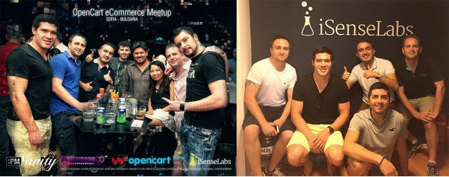 OpenCart Bulgaria meetup with iSenseLabs!