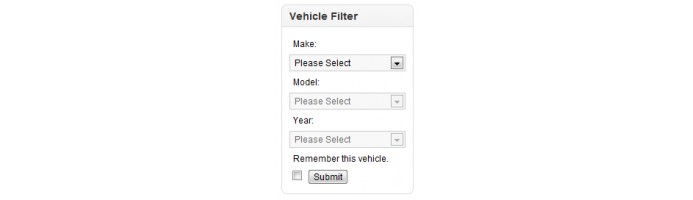 Vehicle Year Make Model Engine Filter