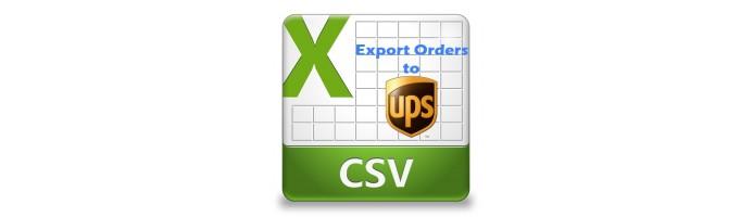 extensions ups batch order export to csv. Black Bedroom Furniture Sets. Home Design Ideas