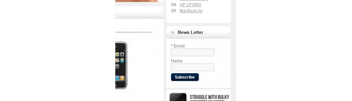 Newsletter Subscribe Module