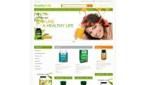 Healthy life responsive theme  2X