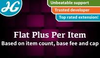 Flat Plus Per Item 1.4.7 - 1.5.X