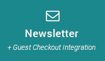Newsletter Subscribe + Guest Checkout Integration
