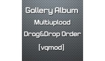 [vqmod] Gallery Album Multiupload - Drag&Drop Order