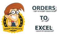 Export - Orders To Excel