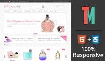 Perfume Store OpenCart Template - OPC040085