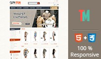 Clothes Store OpenCart Template - OPC050111