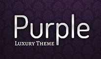 """@dswww"" - Purple Theme (Responsive)"