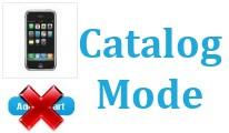 Catalog Mode