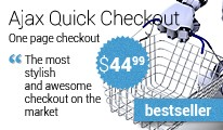 AJAX Quick Checkout (one-page-checkout, checkout checkout)