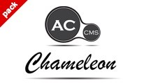 2 in 1 --- AC CMS - News/Blog & Chameleon - Responsive Theme