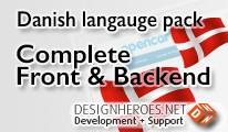 Danish Language Front & Backend