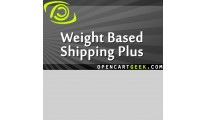 Weight Based Shipping Plus