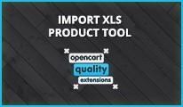 Import/Export xls products tool - product bulk import/export