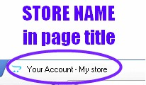 [VQMOD] Store name in page title