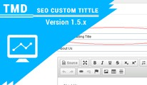 SEO Custom title (Multilanguage supported)