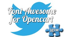 Font Awesome for Opencart