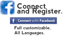 Facebook connect and register - Full customizable All Languages