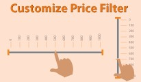 Customize Price Filter