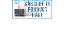 Barcode in product page [vqmod/ocmod]