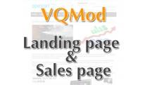 VQMod Landing page & Sale page