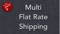 Multi Flat Rate Shipping