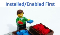 MOD - Enabled and Installed Extensions Listed First