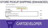 Store Pickup Shipping (Multiple locations) for Opencart