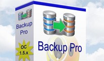 Backup Pro for Opencart 1.5.x