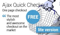 AJAX Quick Checkout FREE (one-page-checkout, checkout checkout)