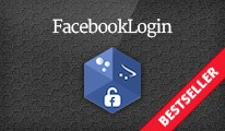 Facebook Login Button - Powerful Plug-and-Play Login Button