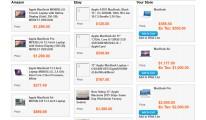 Ebay / Amazon Comparison
