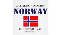 Norsk språkpakke / Norwegian Language pack OC2.1