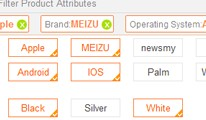 Advanced Filter Product Attributes