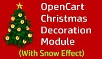 Christmas Decoration Module / Snow Effect [Responsive]