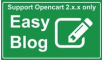 Blog system for OpenCart 2 - Easy Blog Simple