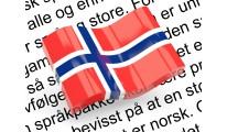 Norsk (egenkomponert) språkpakke / Norwegian lang. (OC2&1.5)