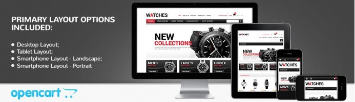Watches - Responsive Store