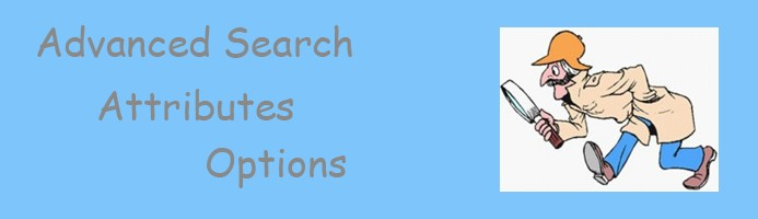 Advanced Search Attributes