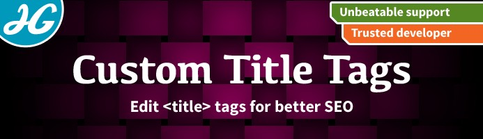 [VQMOD] Custom page title tags for SEO 1.5.X