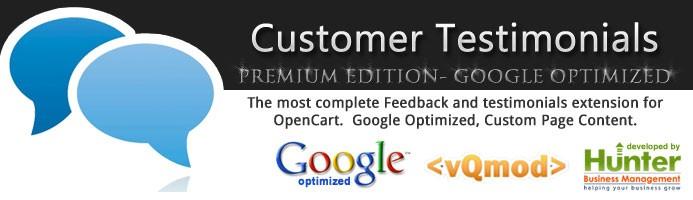 Premium Customer Testimonials - Google SEO Optimized MUST SEE!
