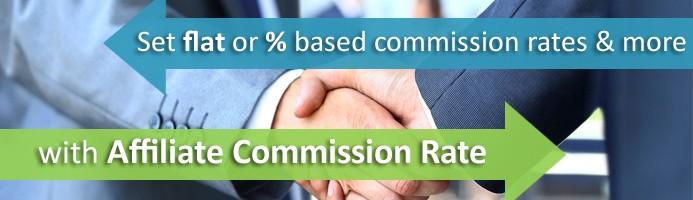 Affiliate Commission Rate (VQMod)