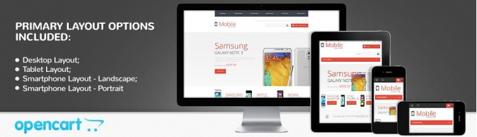 Mobile Store - Responsive Theme