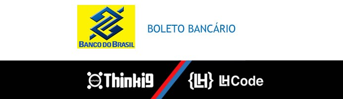 Boleto Bancário Banco do Brasil com 2ª Via