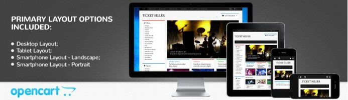 Tickets Seller - Responsive Store