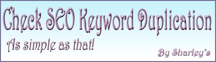 (VqMod) Check SEO keyword duplication