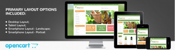 Beauty & Drugs - Responsive Store