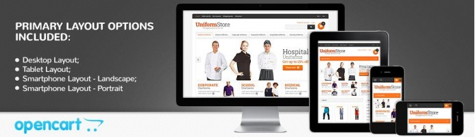 Uniform Store - Responsive Theme