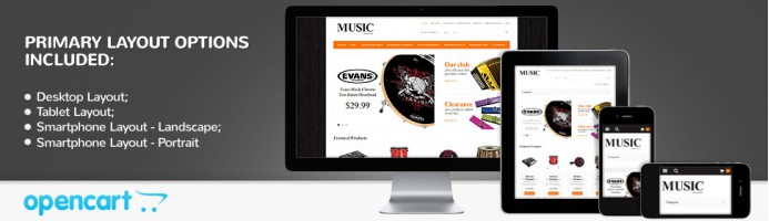 Musical Instruments Store - Responsive