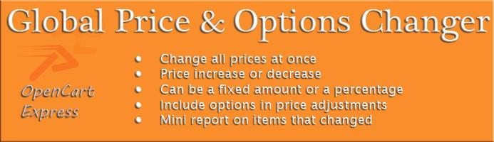 Global Price Changer